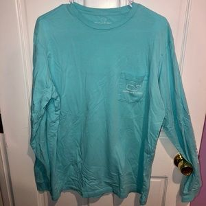 Aqua Vineyard Vines long sleeve shirt